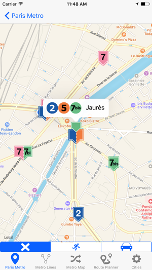 French Metro On The App Store - French metro map