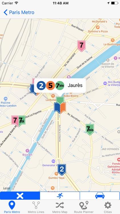 French Metro screenshot-3