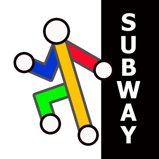 New York Subway from Zuti iOS App