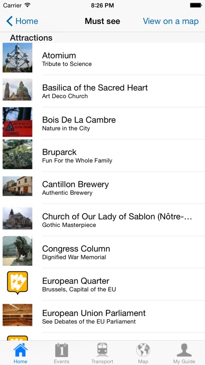 Brussels Travel Guide Offline screenshot-3