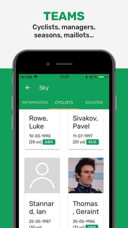 Cyclingoo: Pro Cycling Results screenshot-5