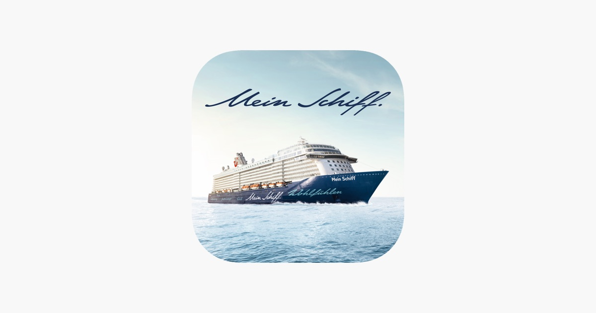 mein schiff kreuzfahrten im app store. Black Bedroom Furniture Sets. Home Design Ideas