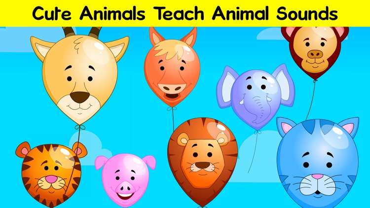 Pop the Balloons - Learn ABC & 123 Numbers screenshot-3