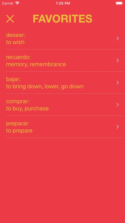 Learn Spanish Words - Palabras