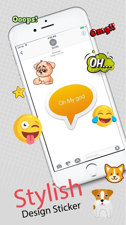 Cat Dog Static Stickers screenshot-3
