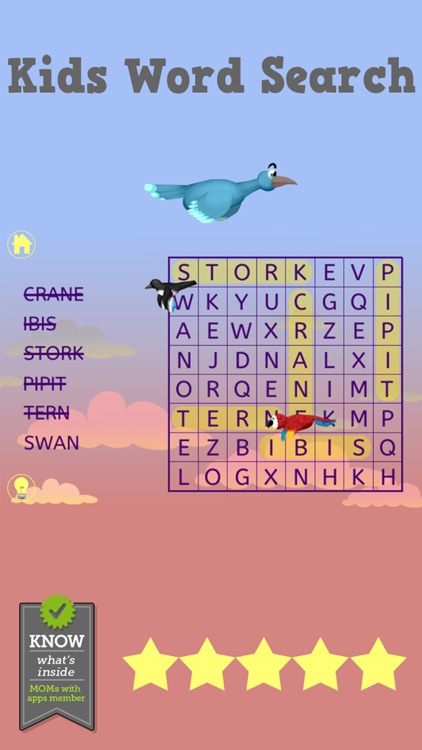 Kids Word Search - Word Puzzle screenshot-4