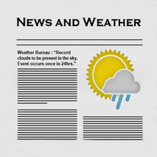 NewsHog : News and Weather iOS App