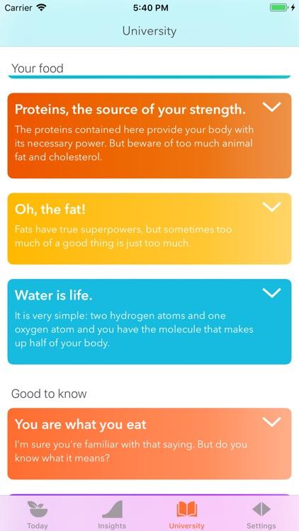 Eat Good! Food Tracker screenshot-5