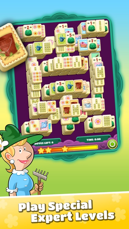 Mahjong Flower Garden screenshot-4