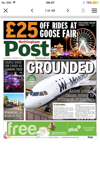 Nottingham Post i-edition