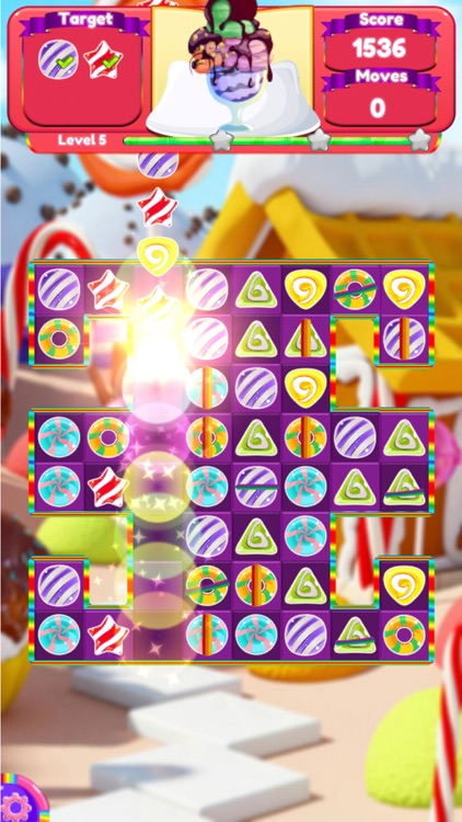 Magic Unicorn pop match 3 screenshot-4