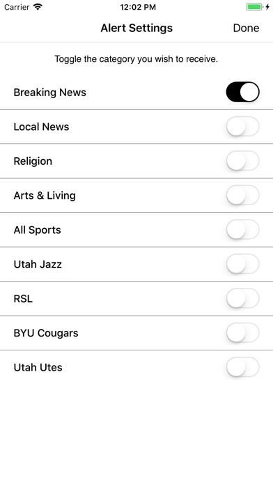 Salt Lake Tribune Screenshot