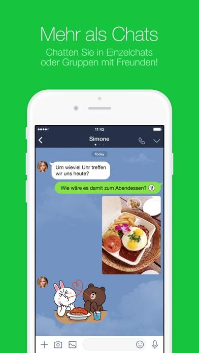 line update mit geheimen nachrichten im privaten chat