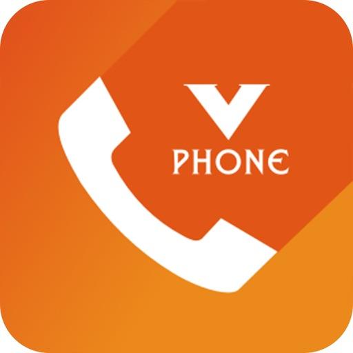 V Phone application logo