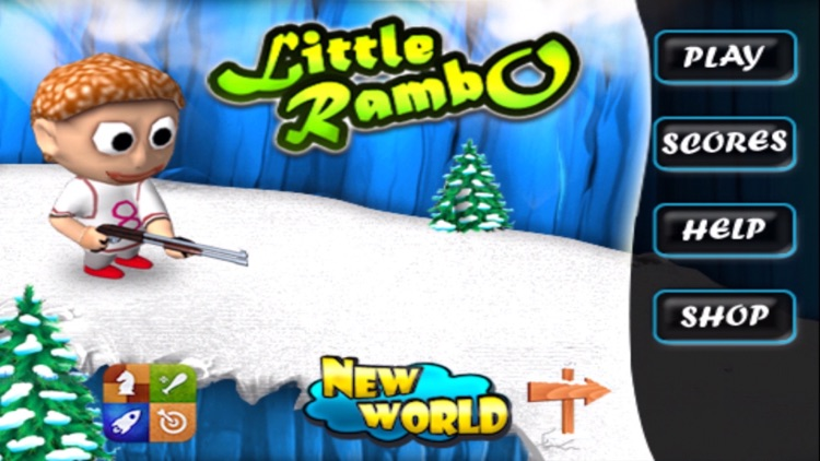 Little Rambo Shooting & Racing screenshot-2