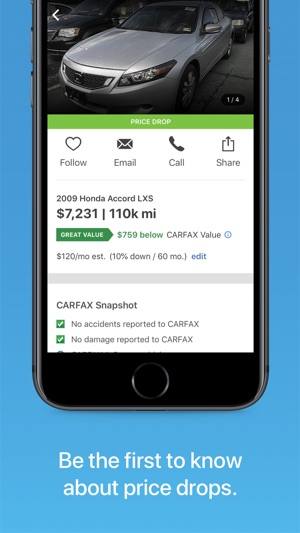 carfax find used cars for sale en app store rh itunes apple com