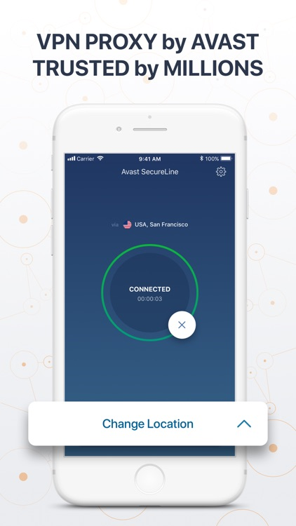 VPN SecureLine: Proxy by Avast screenshot-0
