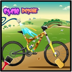Activities of Cycle Repair Mechanic Shop – Vehicle Cleanup Game