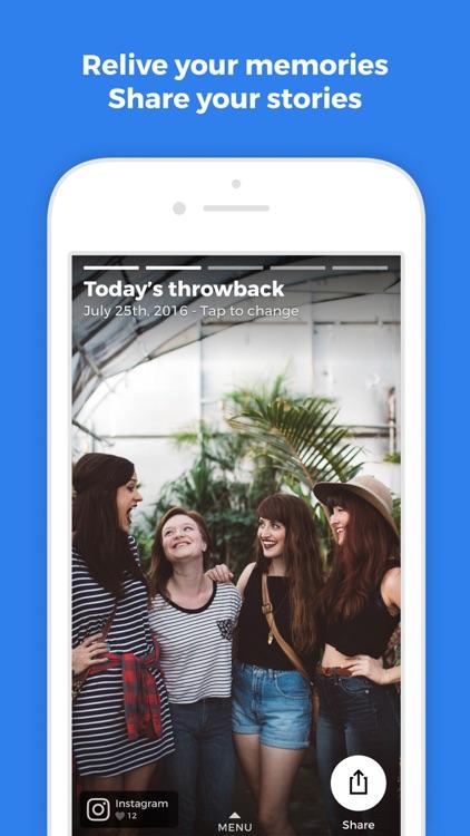 Throwback Stories screenshot-0