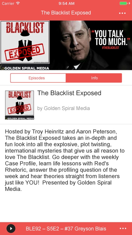 The Blacklist Exposed Podcast