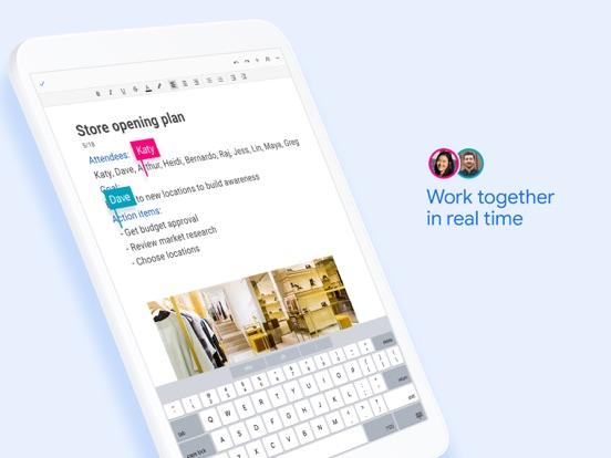 Google Docs: Sync, Edit, Share iPad