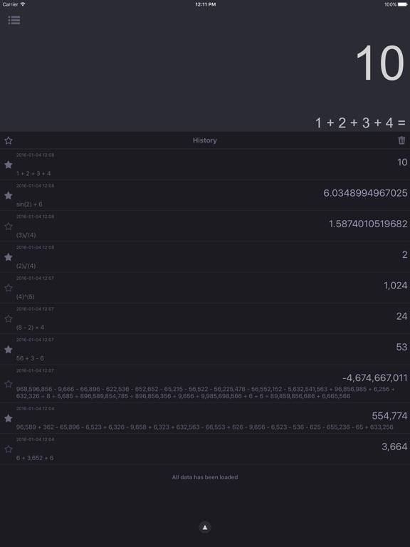 Screenshot #5 for CalcBox Pro - Smart Calculator