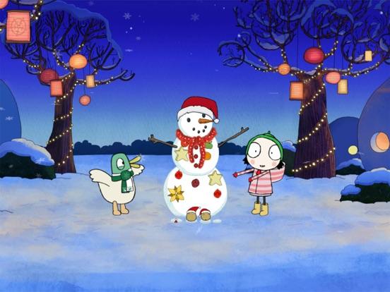 Sarah & Duck: Build a Snowman screenshot 10