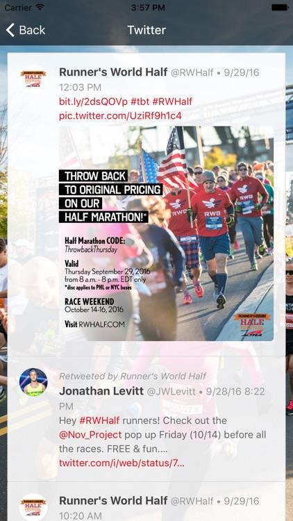 Runner's World Half screenshot-4