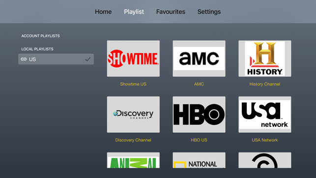 ‎IPTV Player: play m3u playlist Screenshot