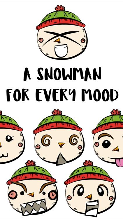 Little Snowman Sticker Pack