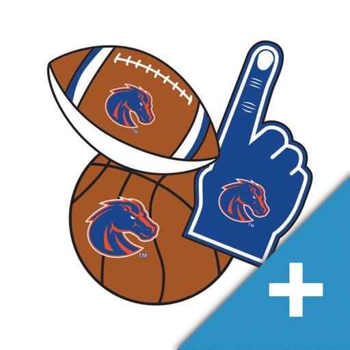 Boise State Broncos PLUS Selfie Stickers