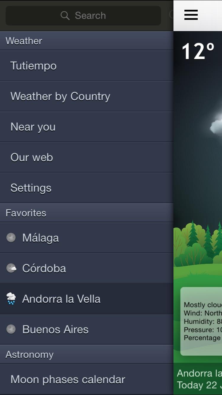Weather 15 Days Screenshot