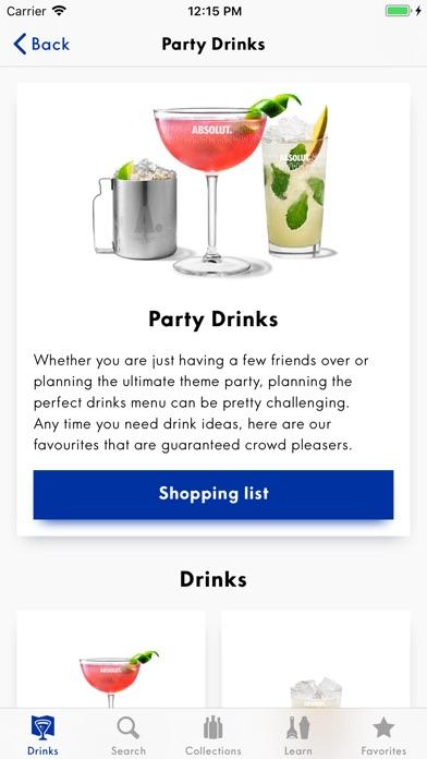 Drinkspiration - Drink Recipes iPhone