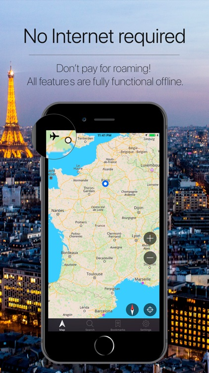 France Offline Navigation screenshot-0