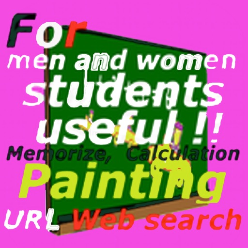 paint, web,calc,memo