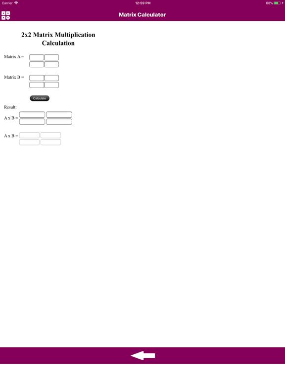 Calculator Of Matrix | App Price Drops
