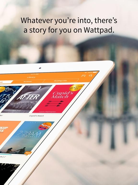Screenshots for Wattpad