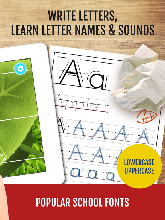 Yum-Yum Letters: Learn & Trace Screenshots