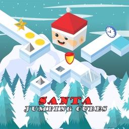Santa Claus Jumping Cubes