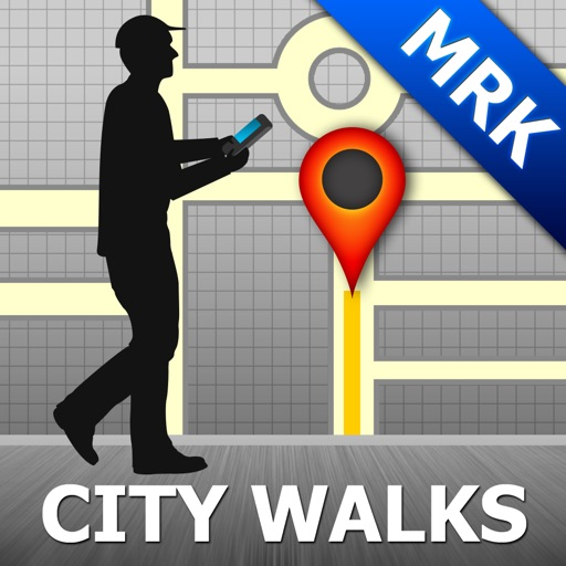 Marrakech Map & Walks (F)