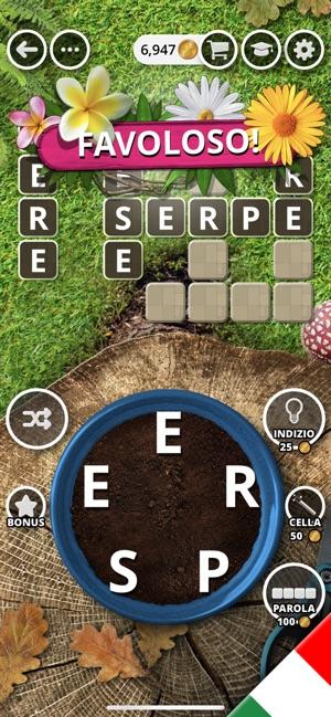 Il giardino delle parole su app store - Il giardino delle parole libro ...