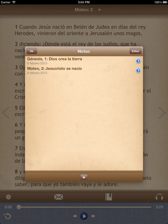 La Biblia Católica con audiobook para iPad screenshot-4