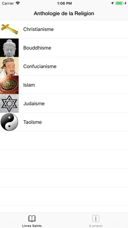 Religion (Anthologie de la) screenshot-0