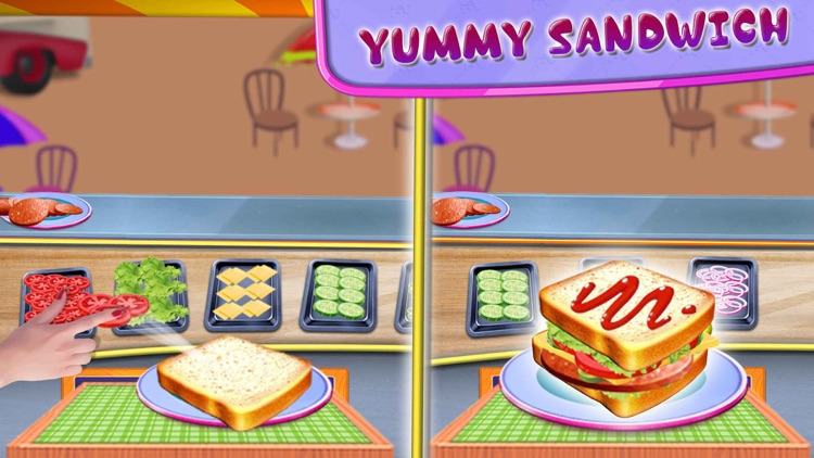Fast Food Truck Park Chef Game screenshot-5