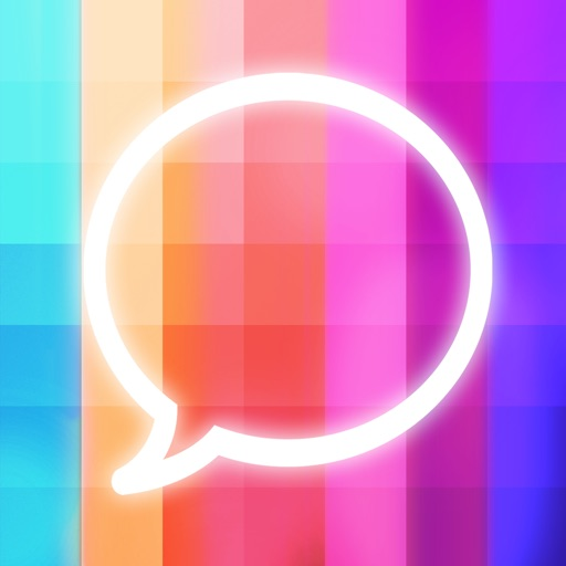Message Makeover - Colorful Text Message Bubbles app logo