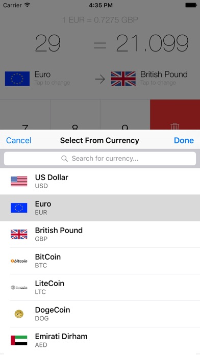 My Currency Converter & Rates