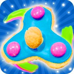 Fidget Spinner Cookie Maker! Hand Spinner Cookies