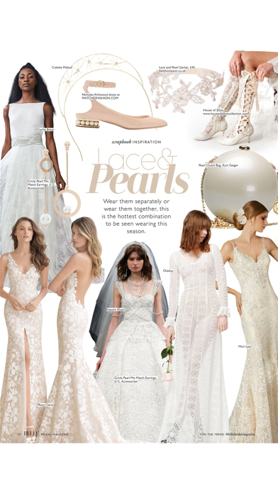 Belle Bridal magazine screenshot 5
