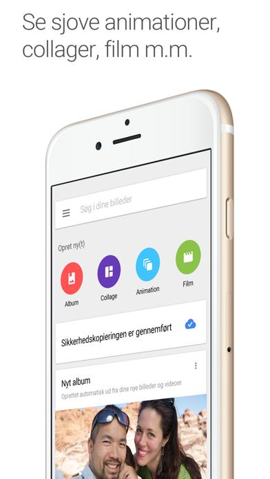 Screenshot for Google Fotos in Denmark App Store