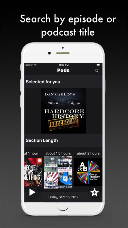 Pods - Podcast Player screenshot-2
